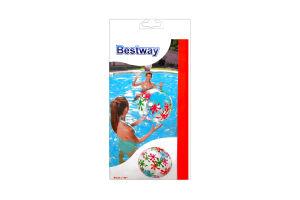 Мяч пляжный дизайнерский Bestway 41см
