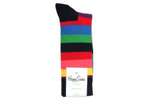 Шкарпетки чол,Happy Socks STR01-6001 41-46 різнок
