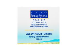 Mineral Beauty Sistem крем денний зволожуючий SPF10 суха,чутлива шкіра 50мл