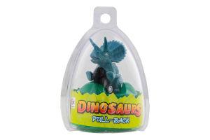 Игрушка Динозавр инерцион мотор в яйце ассорт D`1