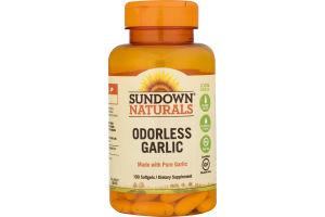 Sundown Naturals Odorless Garlic - 100 CT