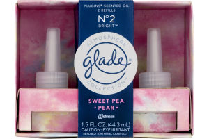 Glade PlugIns Scented Oil + Warmer Sweet Pea Pear