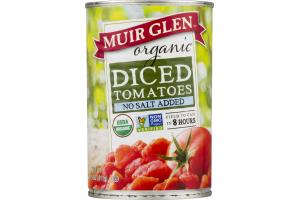 Muir Glen Organic Diced Tomatoes No Salt Added