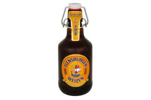 Пиво 0.33л 5.1% світле нефільтроване Flensburger Weizen пл