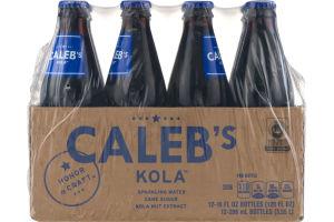 Caleb's Kola Sparkling Water - 12 PK