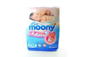 Підгузники Moony NB90 0-6кг х3