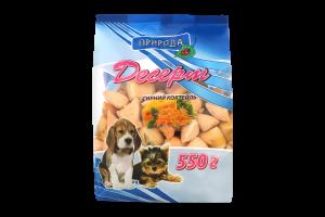 Ласощі для собак Сирний коктейль Природа м/у 100г