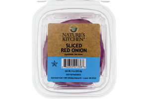 Nature's Kitchen Sliced Red Onion