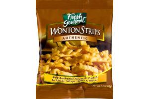Fresh Gourmet Wonton Strips Authentic