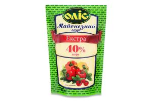 Соус майонезний 40% Екстра Оліс д/п 170г