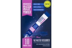 Dream Water Sleep Powder Sticks Snoozeberry - 10 CT
