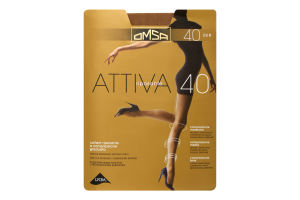 Колготки Omsa Attiva 40den 3-M