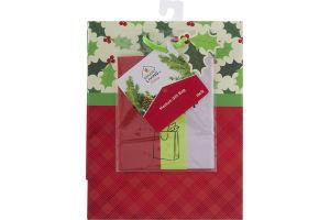Smart Living Holiday Gift Bag Medium W/ Tissue