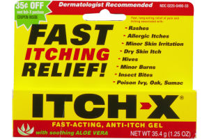 Itch-X Fast-Acting Anti-Itch Gel