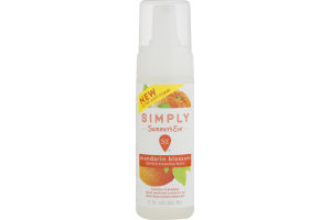 Simply Summer's Eve Gentle Foaming Wash Mandarin Blossom