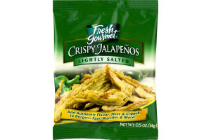 Fresh Gourmet Crispy Jalapeños Lightly Salted