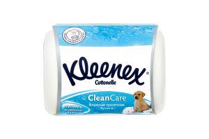 Туалетная бумага влажная Алоэ вера Kleenex 42шт