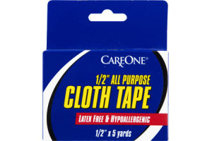 "CareOne 1/2"" All Purpose Cloth Tape"
