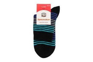 Брестские шкарпетки жіночі Classic 14C1100 р.23 014 чорний-смарагд