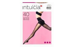 Колготки жіночі Intuicia Silhouette 40den 4 vizone