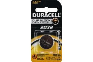 Duracell DL2032 Battery 3 Volt
