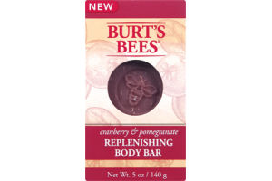 Burt's Bees Cranberry & Pomegranate Replenishing Body Bar
