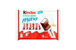 Шоколад молочний Chocolate Maxi Kinder м/у 126г