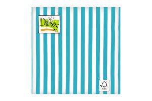 Салфетки Daisy с рисунком бумажная 3-слойная D-26