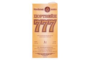 Вино Портвейн 777 білий 1л