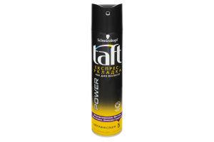 Лак для волосся Taft Три погоди ЕКСПРЕС УКЛАДКА мегафіксація 250мл