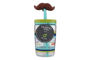 Склянка дитяча з трубочкою 0,47 л, Синього з зеленим, Contigo FUNNY STRAW06800369