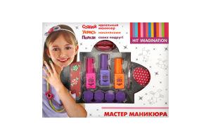 Набір косметики для дітей від 3років №88006 Майстер манікюру Hit Imagination 1шт