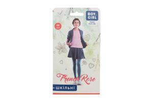 Колготи дитячі Boy&Girl French rose 60den 140-146 grafite