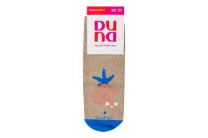 Шкарпетки жіночі Duna №3127 21-23 бежевий