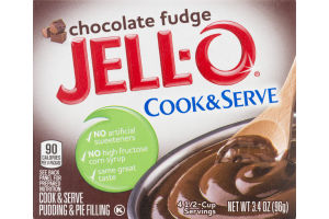 JELL-0 Pudding & Pie Filling Chocolate Fudge