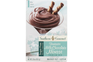 Southern Gourmet Premium Mix Sugar Free Fantastic Milk Chocolate Mousse