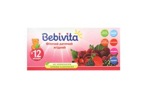 Фиточай для детей от 12мес ягодный Bebivita 30г