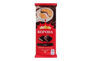 Шоколад чорний з кремовою начинкою Кава Корона м/у 85г