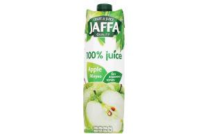 Сок яблочный осветленный Jaffa т/п 1л