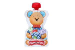 Пюре для дітей від 5міс Яблуко-лохина Bambolina д/п 90г
