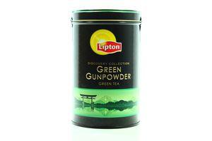 Чай Lipton Green Gunpowder зеленый жестяная банка 100г