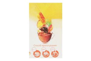 Чай чорний байховий зі шматочками ананасу та цедрою грейпфрута Tropical Fruit Lipton к/у 20х1.8г
