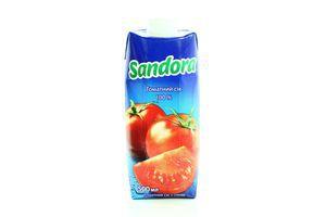 Сок томатный Сандора призма т/п 0,5л