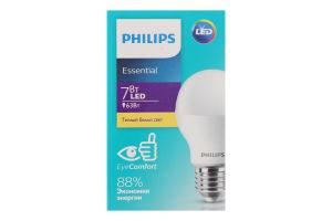 Лампа Philips ESS LEDBulb 7W 3000K 230V E27