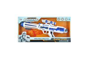 Іграшка Китай Пістолет космічний Art.LM666-6Y x6