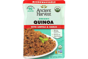 Ancient Harvest Organic Quinoa with Lentils & Garlic