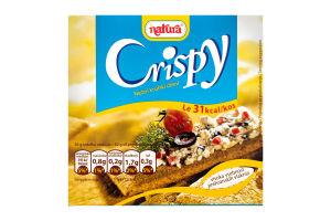 Хлебцы Natura Crispy хрустящие цельнозернов ржаные