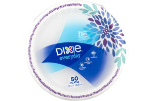 Dixie Everyday Plates - 50 CT