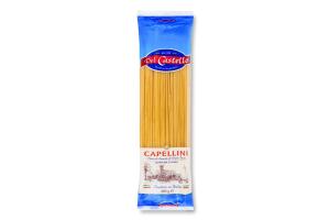 Вироби макаронні Capellini Del Castello м/у 400г