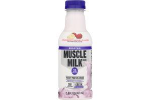 Muscle Milk Smoothie Yogurt Protein Shake Strawberry Banana Flavor